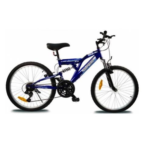 Olpran MAGIC 24 modrá - Detský celoodpružený bicykel