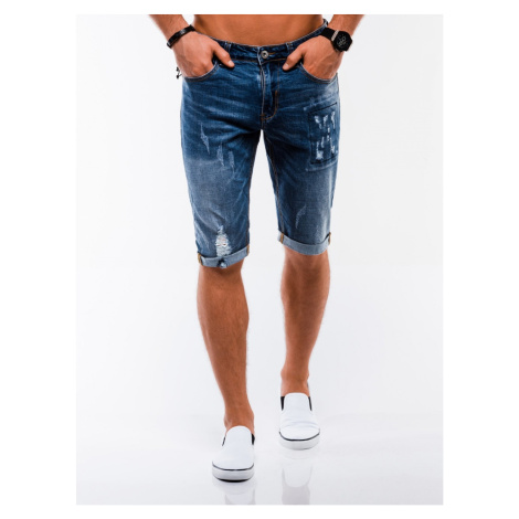 Ombre Clothing Men's denim shorts W215