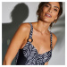 Blancheporte Jednodielne plavky Uras, s kosticami čierna, koš. C