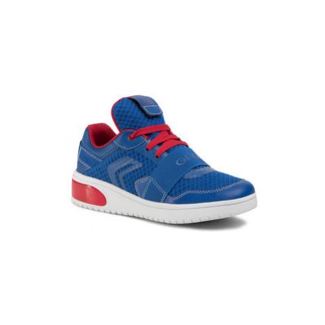 Geox Sneakersy J Xled B. B J927QB 01454 C0833 S Modrá