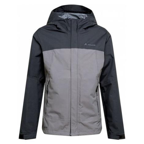VAUDE Outdoorová bunda 'Lierne'  sivá / čadičová