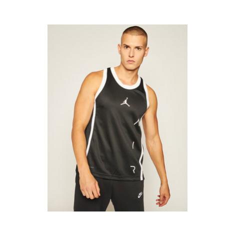 Nike Funkčné tričko Jordan Air CT4765 Čierna Standard Fit