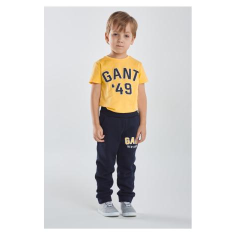 TEPLÁKY GANT D1. GANT LOGO SWEAT PANTS