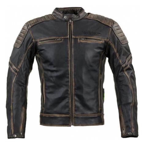 Kožená moto bunda W-TEC Mungelli Farba vintage hnedá