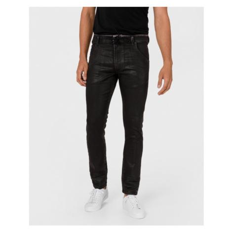 Diesel Krooley Jeans Čierna