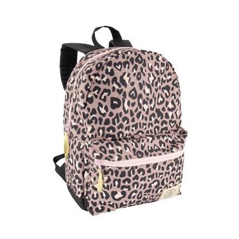 Deichmann - Ružový batoh so zvieracím vzorom