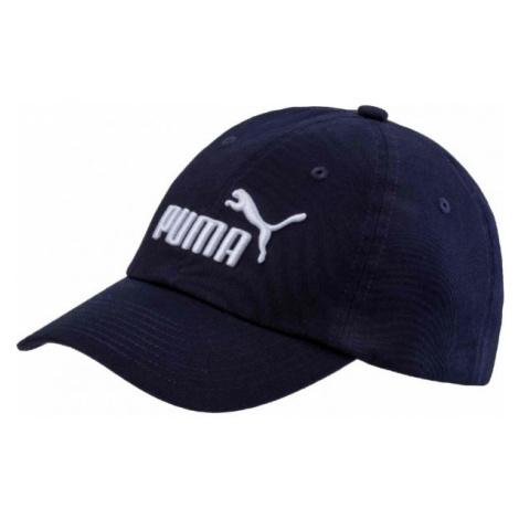 Puma ESS CAP JR tmavo modrá - Detská šiltovka