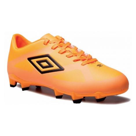 Umbro VELOCITA 3 CLUB HG oranžová - Pánske kopačky