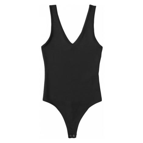 Abercrombie & Fitch Košeľové body  čierna