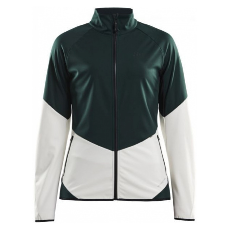 Craft GLIDE zelená - Dámska softshellová bunda