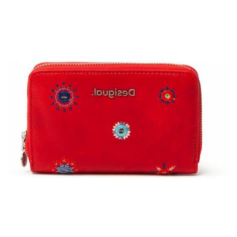 Desigual červené malá peňaženka Mone July Denim Marisa