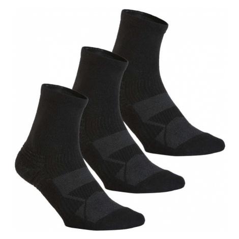 NEWFEEL Ponožky Ws 100 Mid čierne 3 Ks