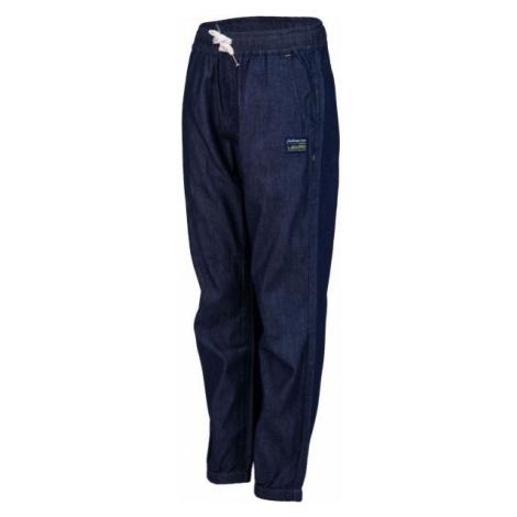 Lewro RENZO tmavo modrá - Detské nohavice