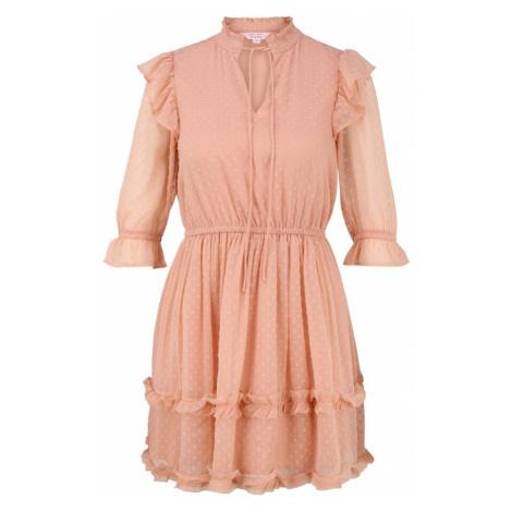 Miss Selfridge Petite Šaty 'DOBBY'  svetloružová