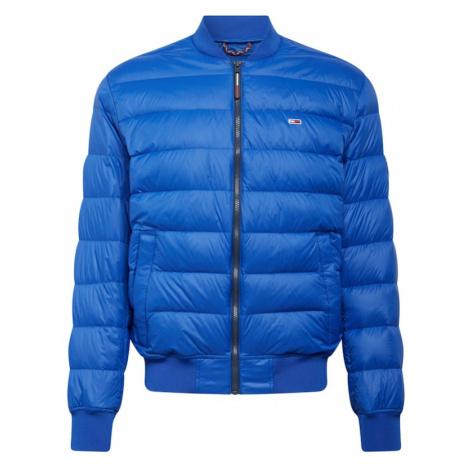 Tommy Jeans Prechodná bunda  modrá Tommy Hilfiger