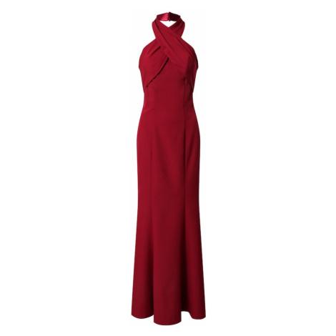 Chi Chi London Večerné šaty  burgundská