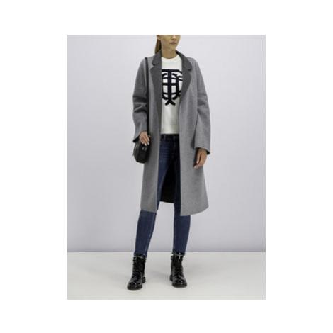 TOMMY HILFIGER Prechodný kabát WW0WW25157 Sivá Regular Fit