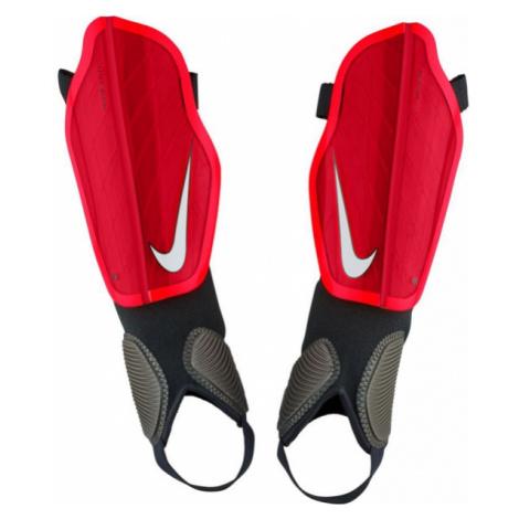 Nike PROTEGGA FLEX červená - Futbalové chrániče