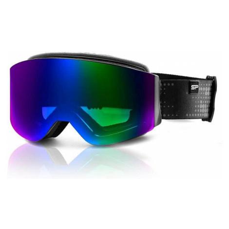 Spokey GRANBY lyžařské brýle černo-modré