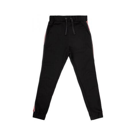 Primigi Bavlnené nohavice BLACK COUTURE Black Party 44123581 Čierna Regular Fit