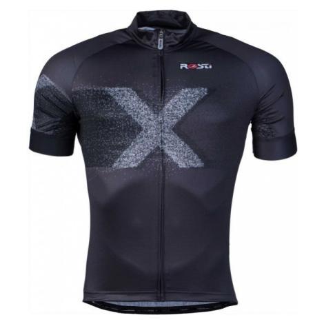 Rosti X DL ZIP čierna - Pánsky cyklistický dres