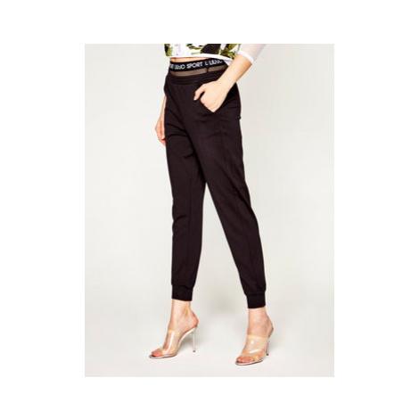 Liu Jo Sport Teplákové nohavice TA0161 J5943 Čierna Regular Fit