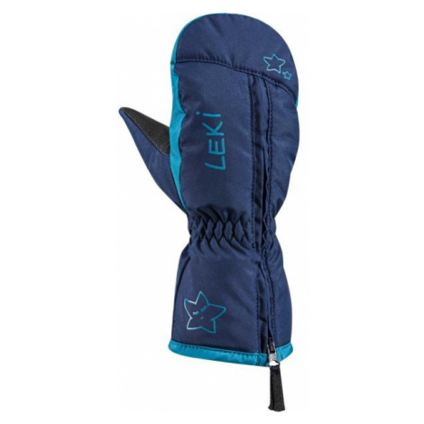 Leki LITTLE SNOW MITT modrá - Detské zimné rukavice