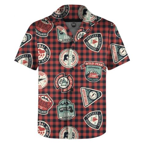 Mr. GUGU & Miss GO Man's Shirt SH-K1658