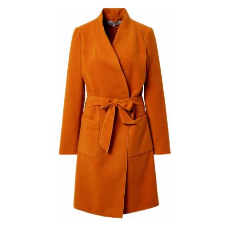 VILA Prechodný kabát  oranžová