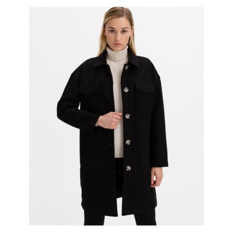 Vero Moda Kabát Čierna