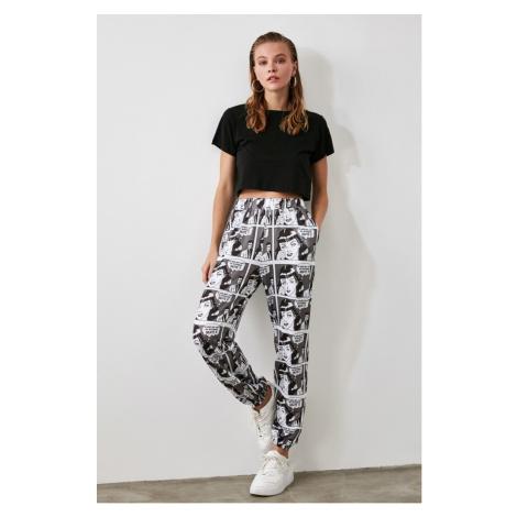 Women's sweatpants Trendyol Printed