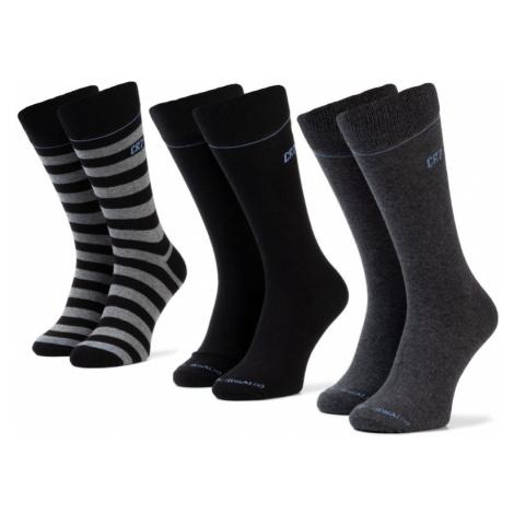 Súprava 3 párov vysokých ponožiek pánskych Cristiano Ronaldo CR7
