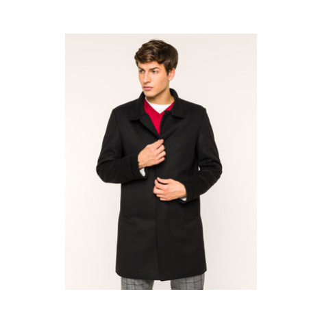 Strellson Prechodný kabát New Brodway 30018512 Čierna Regular Fit