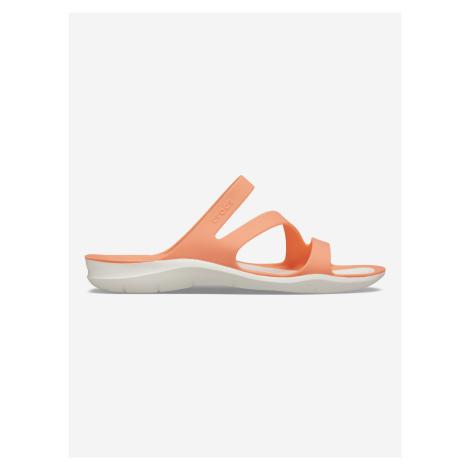 Swiftwater™ Pantofle Crocs Oranžová