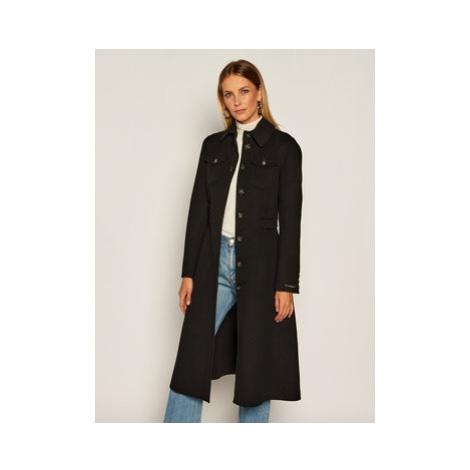 Sportmax Code Vlnený kabát Canneti 70160106 Čierna Regular Fit