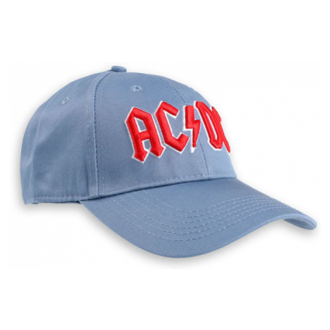 šiltovka AC/DC - Red Logo - ROCK OFF - ACDCCAP02D
