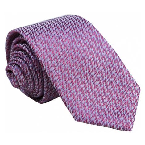 Pánska vzorovaná kravata Barley ružová
