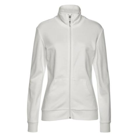 BENCH Tepláková bunda  biela