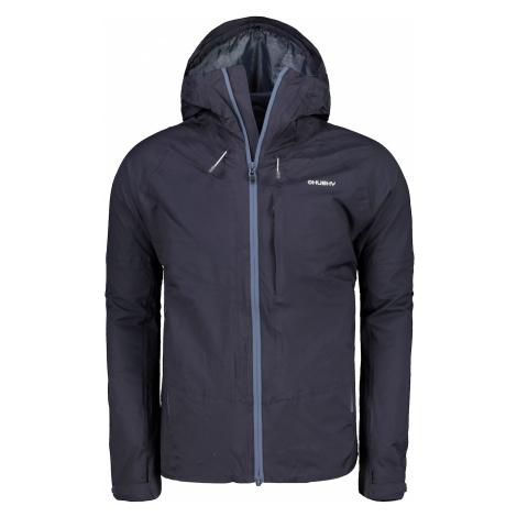 Men's hardshell jacket Nicker M black-violet Husky