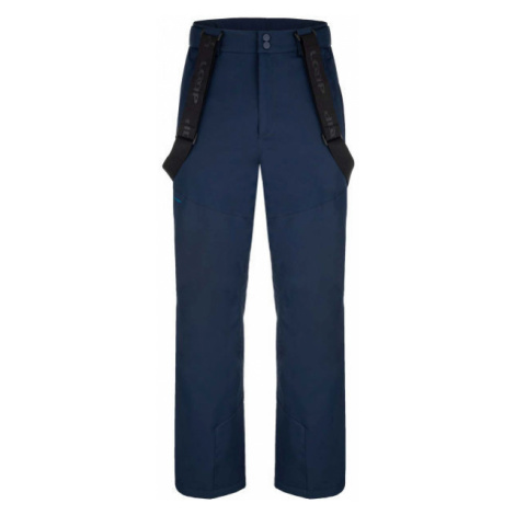 Loap FLOCKY modrá - Pánske lyžiarske nohavice