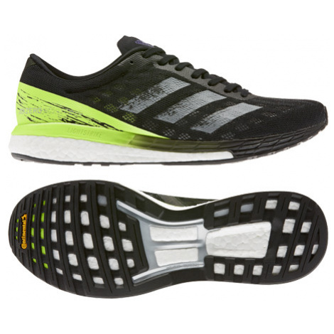 Pánske Bežecké Topánky Adidas Adizero Boston 9 Čierno-Zelené