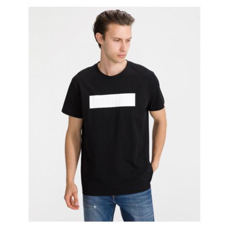 Calvin Klein Blocking Logo Tričko Čierna