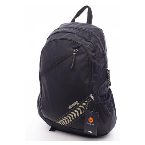 Čierny moderný batoh Diviley Donte