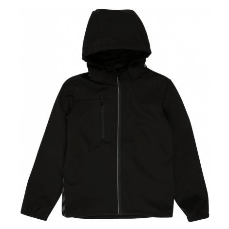Hummel Prechodná bunda 'CHRISTER'  čierna / sivá