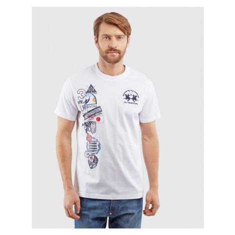 Tričko La Martina Man Tshirt S/S Cotton Jersey