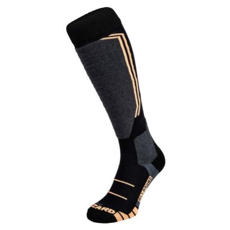 Blizzard ALLROUND WOOL SKI SOCKS oranžová - Lyžiarske ponožky