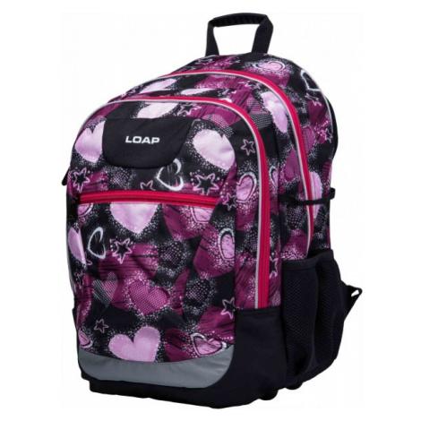 Loap ELLIPSE ružová - Školský batoh