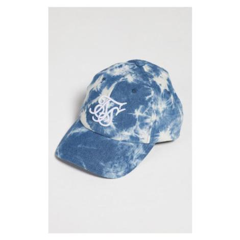 Snapback Sik Silk & X Starter Curved Bleach Bent Peak Denim Blue Farba: Modrá, Pohlavie: UNI SikSilk