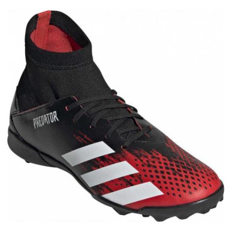 adidas PREDATOR 20.3 TF J červená - Detské turfy