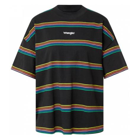 WRANGLER Tričko  čierna / zmiešané farby